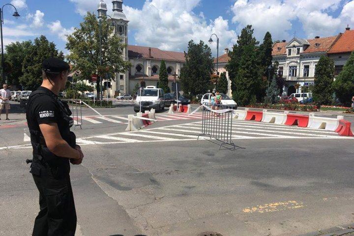 székelyudvarhelyi helyi rendőrség, Kossuth Lajos utca, forgalomváltoztatás