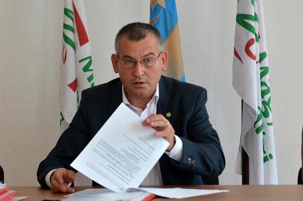 Kizárták Gálfi Árpádot, Székelyudvarhely polgármesterét az MPP-ből, függetlenként folytatja