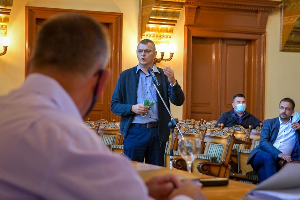 Benedek Árpád Csaba felszólalása a 2020 szeptemberi tanácsülésen