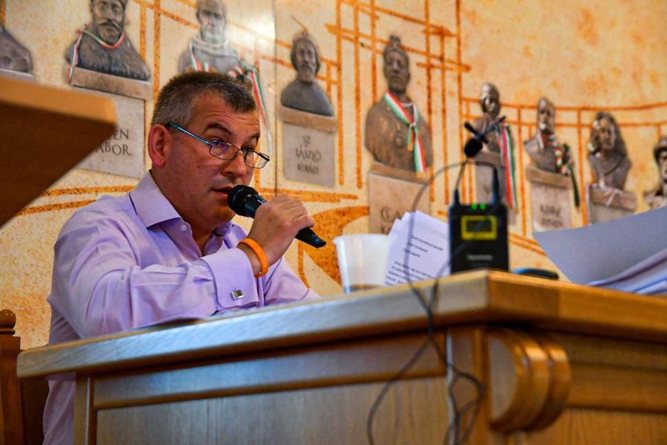 Gálfi Árpád polgármester felszólalása a 2020. szeptemberi tanácsülésen